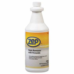 Zep Professional Stain Remover with Peroxide, Quart Bottle (ZPPR00701)