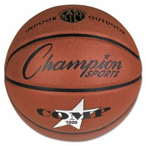"Champion Sports Composite Basketball, Official Size, 30"", Brown (CSISB1020)"