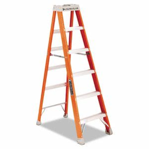 Louisville FS1500 Series Fiberglass Step Ladder, 6ft (LOUFS1506)