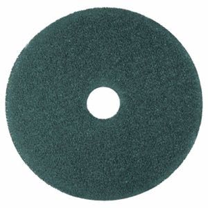 "3M Blue 20"" Floor Cleaning Pad 5300, Nylon/Polyester Fiber, 5 Pads (MMM08413)"