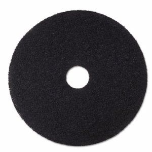 "3M Black 20"" Floor Stripping Pad 7200, Synthetic Fiber, 5 Pads (MMM08382)"