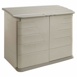 Rubbermaid Horizontal Storage Shed, 38 Cubic Feet (RUB374701OLVSS)