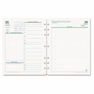 Franklincovey Original Dated Daily Planner Refill, January-December, 8-1/2 x 11, 2013 (FDP3542713)