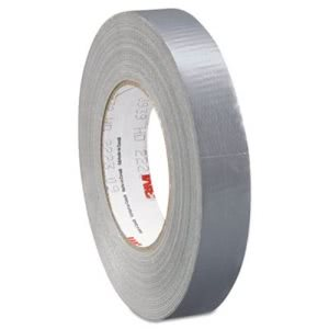 3m 3939 Silver Duct Tape, 24mm x 54.8m (MMM02120085561)