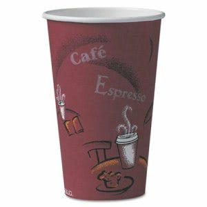 Bistro Design 16oz Paper Hot Cup, 1,000 Cups (SCC 316SI)