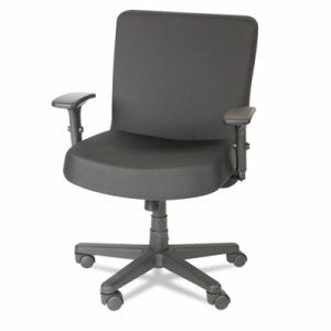 Alera Plus XL Series Big & Tall Mid-Back Task Chair, Black (AAPCP210)