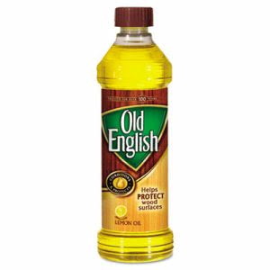 Old English Furniture Polish, Lemon Scent, Liquid, 16 oz Bottle (RAC75143)
