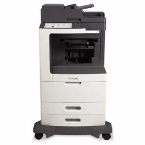 Lexmark MX810de Multifunction Laser Printer, Copy/Fax/Print/Scan (LEX24T7407)