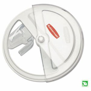 Rubbermaid 9G77 ProSave Sliding Lid with Scoop,  (RCP 9G77 WHI)