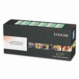Lexmark 80C1SY0 Toner Cartridge, 2000 Page-Yield, Yellow (LEX80C1SY0)