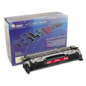 Troy CF-280X MICR High-Yield Toner Secure, 6800 Yield, Black (TRS0281551001)