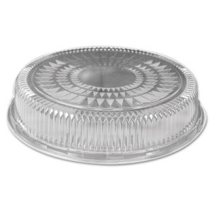18in Clear Dome Lids for Round Serving Trays, 25 Lids (HFA4018DL)