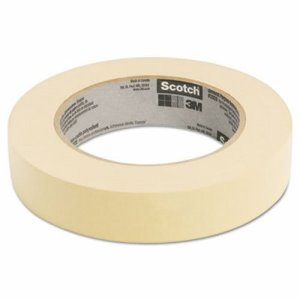 "Scotch Masking Tape, 1"" x 60 yards, 3"" Core, 1 Roll (MMM2021BULK)"