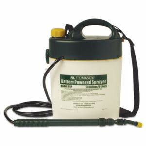 Portable Battery-Powered Sprayer w/Telescoping Wand, 1.3 Gallon (RLF5BP)