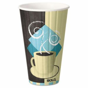 Solo Cup Duo Shield 16-oz. Insulated Paper Hot Cups, 5 Cups (SCCIC16J7534PK)