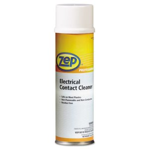 Zep Electrical Contact Cleaner, Neutral, 12-oz Aerosol, 12 Cans (ZPP1041830)