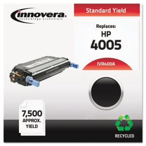 Innovera Remanufactured CB400A (642A) Laser Toner, 7500 Yield, Black (IVR400A)