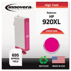 Innovera D973AN Compatible CD973AN (920XL) Ink, Magenta (IVRD973ANC)