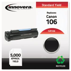Innovera Remanufactured 0264B001AA (106) Toner, 5000 Yield, Black (IVR106)
