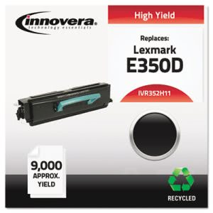 Innovera Remanufactured E352H21A (E350) Toner, 9000 Yield, Black (IVR352H11)