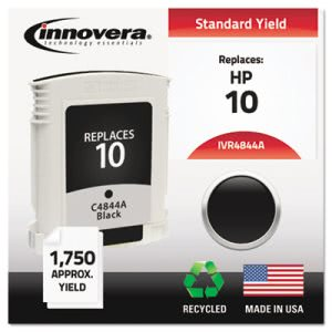 Innovera 4844A Compatible, Remanufactured, C4844A (10) Ink, Black (IVR4844A)