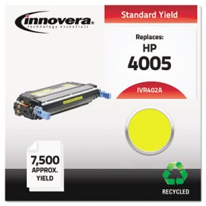 Innovera Remanufactured CB402A (642A) Laser Toner, 7500 Yield, Yellow (IVR402A)