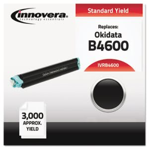 Innovera Compatible with 43502301 (B4600) Toner, 3000 Yield, Black (IVRB4600)