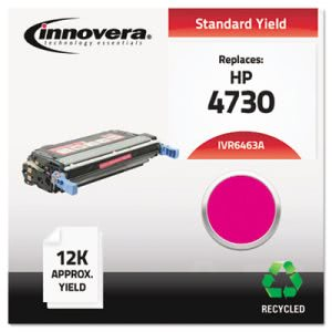 Innovera Remanufactured Q6463A (644A) Toner, 12000 Yield, Magenta (IVR6463A)
