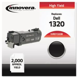 Innovera Compatible with 310-9058 (1320) Toner, 2000 Yield, Black (IVRD1320B)