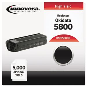 Innovera Compatible with 43324404 (5500) Toner, 5000 Yield, Black (IVR85500B)