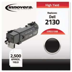 Innovera D2130B Compatible Remanufactured Toner, 2500 Yield, Black (IVRD2130B)