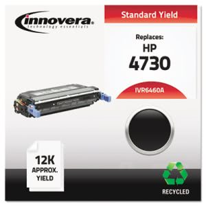 Innovera Remanufactured Q6460A (644A) Laser Toner, 12000 Yield, Black (IVR6460A)