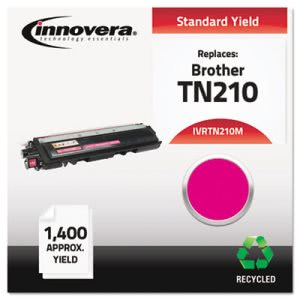 Innovera Remanufactured TN210M Toner, 1400 Page-Yield, Magenta (IVRTN210M)