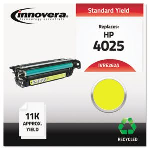 Innovera E262A Remanufactured Laser Toner, 11000 Yield, Yellow (IVRE262A)