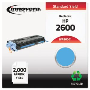 Innovera 86001 Compatible, Remanufactured, Q6001A, 2000 Yield,Cyan (IVR86001)