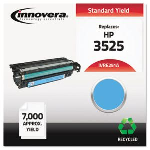 Innovera Remanufactured CE251A (504A) Laser Toner, 7000 Yield, Cyan (IVRE251A)