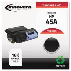 Innovera 83045 Compatible, Remanufactured, 18000 Yield, Black (IVR83045)
