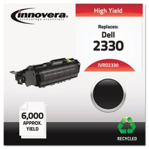 Innovera Remanufactured 330-2666 (2330) Toner, 6000 Yield, Black (IVRD2330)