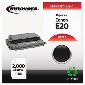 Innovera Remanufactured, 1492A002AA (E20) Toner, 2000 Yield, Black (IVRE20)