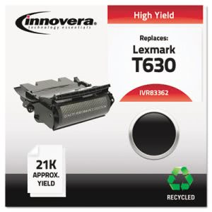 Innovera 83362 Compatible Remanufactured Toner, 21000 Yield, Black (IVR83362)