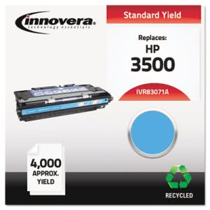 Innovera Remanufactured Q2671A (309A) Laser Toner, 4000 Yield, Cyan (IVR83071A)