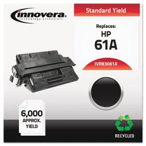 Innovera Remanufactured C8061A (61A) Laser Toner, 6000 Yield, Black (IVR83061A)