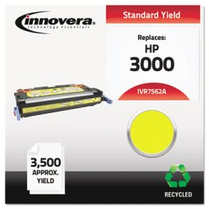 Innovera Remanufactured Q7562A (314A) Laser Toner, 3500 Yield, Yellow (IVR7562A)