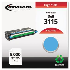 Innovera Remanufactured 310-8379 (3115) Toner, 8000 Yield, Cyan (IVRD3115C)