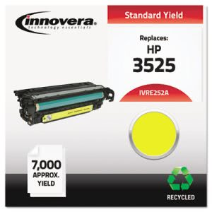 Innovera Remanufactured CE252A (504A) Laser Toner, 7000 Yield, Yellow (IVRE252A)