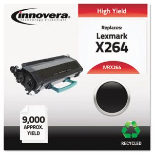Innovera Remanufactured (X264H11G) Toner, 9000 Yield, Black (IVRX264)