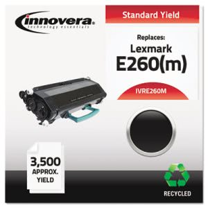 Innovera Compatible Remanufactured MICR Toner, 3500 Yield, Black (IVRE260M)