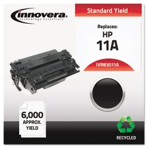 Innovera Remanufactured Q6511A (11A) Laser Toner, 6000 Yield, Black (IVR83011A)