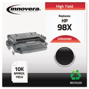 Innovera Remanufactured 92298X (98X) Laser Toner, 8800 Yield, Black (IVR83098X)