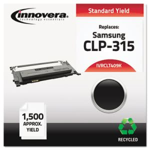 Innovera CLT409K Compatible Remanufactured Toner, 1500 Yield, Black (IVRCLT409K)
